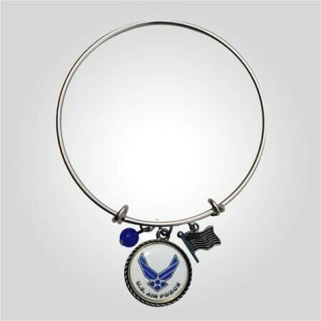Air Force Bangle Bracelet