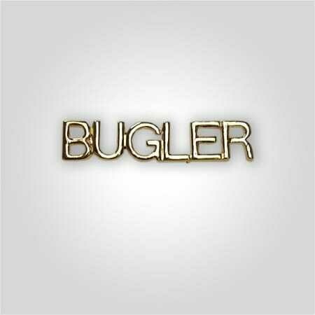 Cap Bar Pin - Bugler