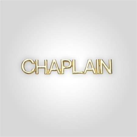 Cap Bar Pin - Chaplain