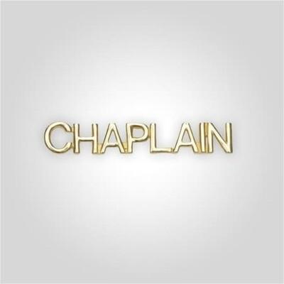 Cap Bar Pin - Chaplain