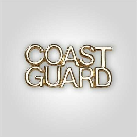 Cap Bar Pin - Coast Guard