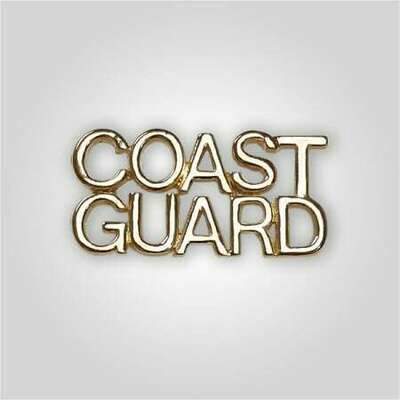 Cap Bar Pin - Coast Guard