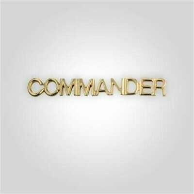 Cap Bar Pin - Commander