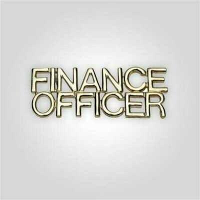 Cap Bar Pin - Finance Officer