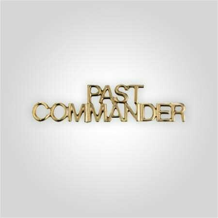 Cap Bar Pin - Past Commander