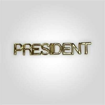 Cap Bar Pin - President