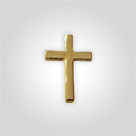 Gold Chaplain Cross Tack
