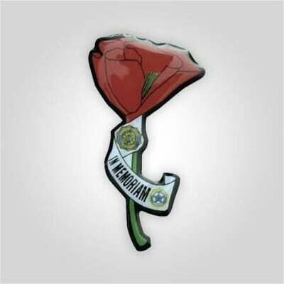 """""""In Memoriam"""" Poppy Tack"""