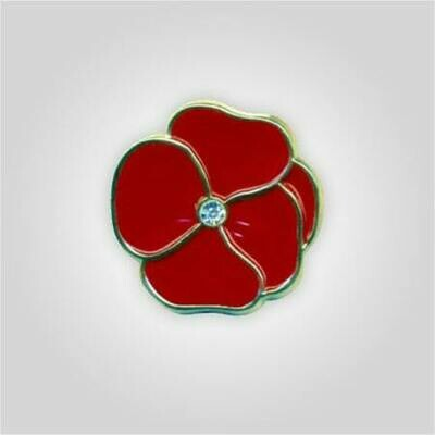 Jeweled Poppy Tack