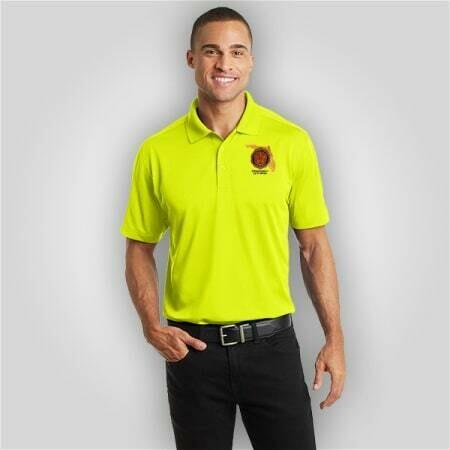 Neon Yellow Polo Mens