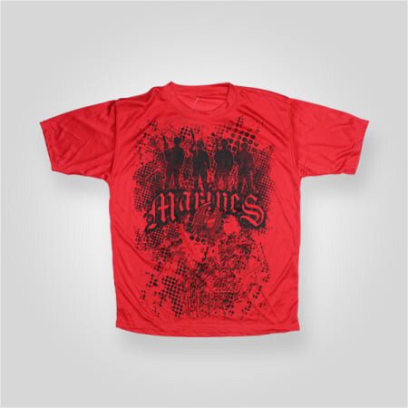 Marines Performance TShirt