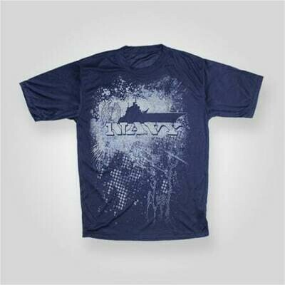 Navy Performance TShirt
