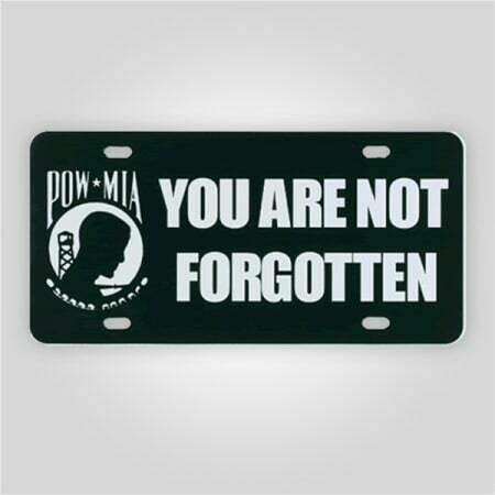 POW/MIA License Plate