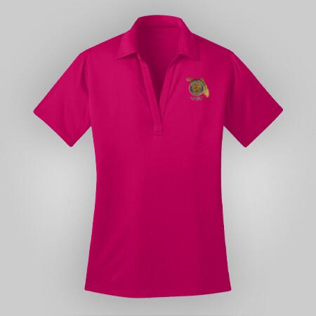 Pink Raspberry Polo Ladies