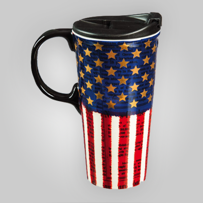 Liberty Ceramic Travel Cup 17 oz
