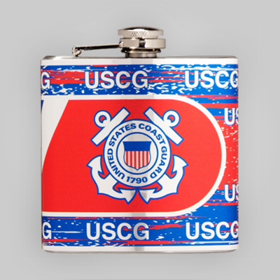 Coast Guard 6oz Flask