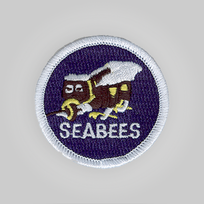 Sea Bees Insignia Patch