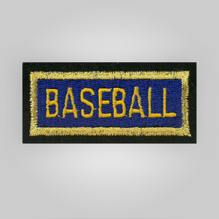 Baseball Insignia Patch