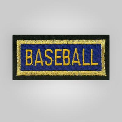 Baseball Insignia Patch
