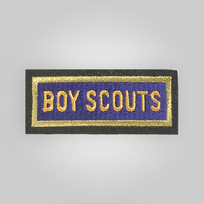 Uniform Cap Boy Scout Patch