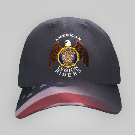 Legion Riders Waving Flag Cap