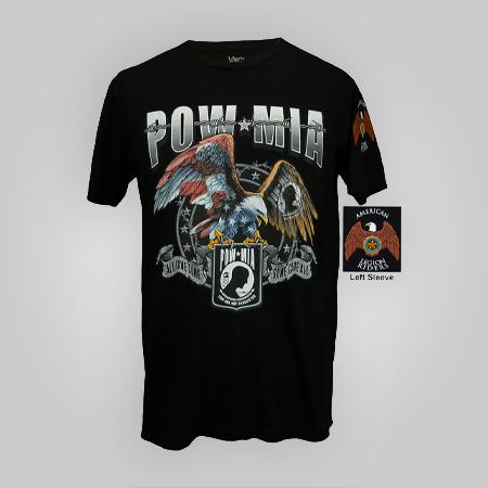 Legion Riders POW/MIA Eagle T-shirt