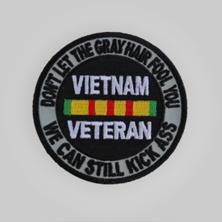 Gray Hair Vietnam Patch