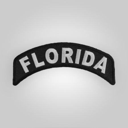 Florida Rocker Ribbon Patch