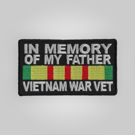 Father Vietnam Vet Patch