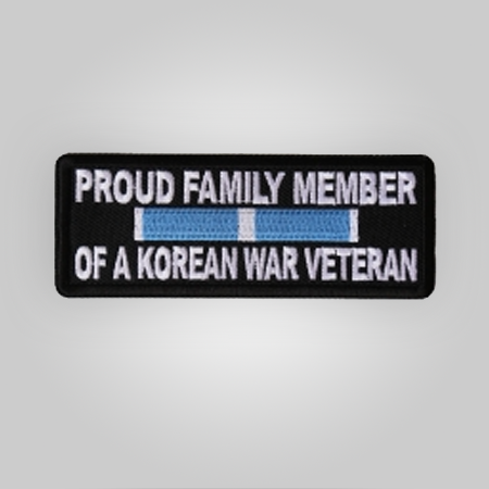 Proud Family of Korean Vet Patch