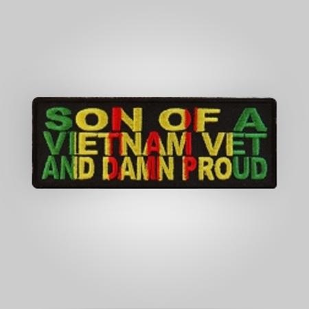 Son of A Vietnam Vet Patch