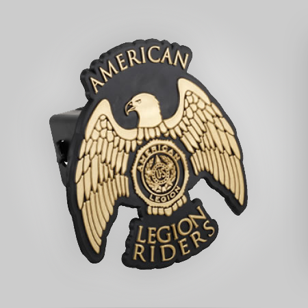 Legion Riders Bike Trailer Hitch Cover