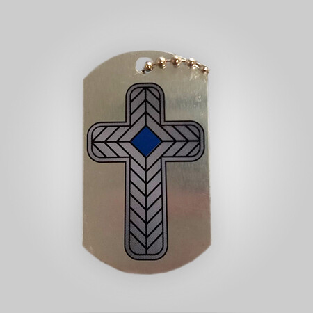 Faith Dogtags - 2 Corinthians 5:7