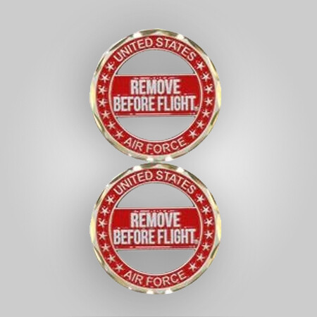 USAF Remove Before Flight Coin