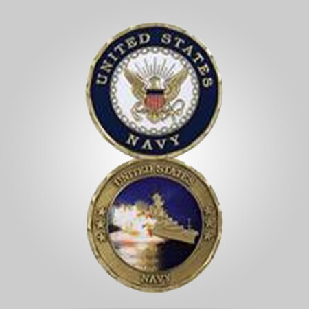 USN Navy Coin