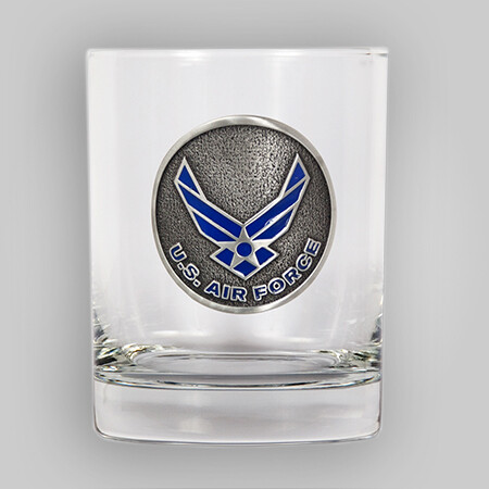 U.S. Air Force 14oz Rocks Glass