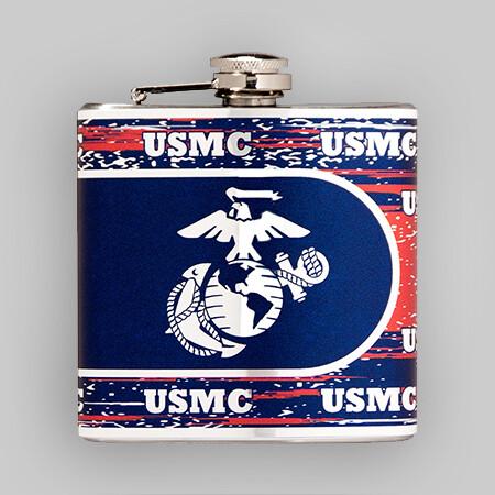 USMC 6oz Flask