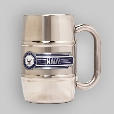 U.S. Navy 16oz Barrel Steel Mug