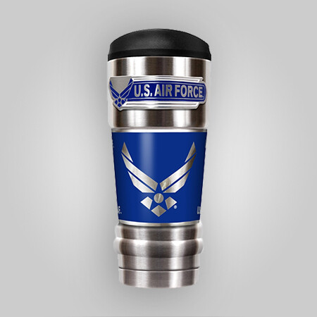 U.S. Air Force 18oz Vacuum Steel Tumbler
