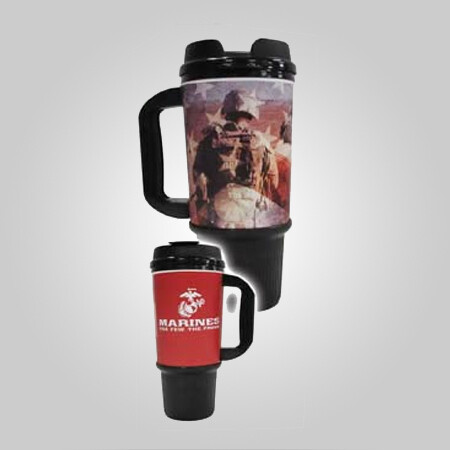 Marines 24oz Travel Mug - Made in the USA