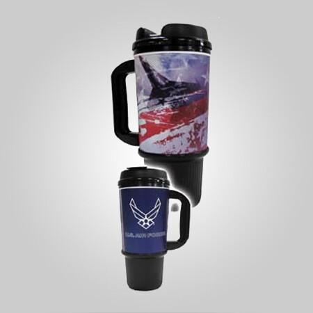 Air Force 24oz Travel Mug - Made in the USA