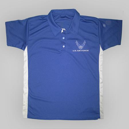 Air Force Performance Golf Shirt