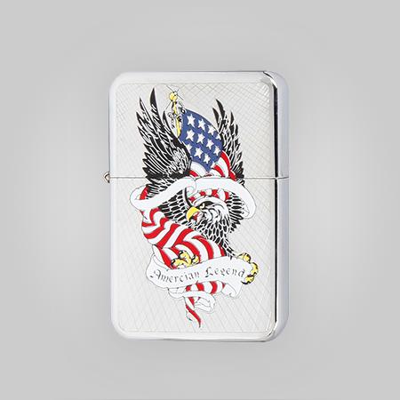 Patriotic Wind Proof Lighter