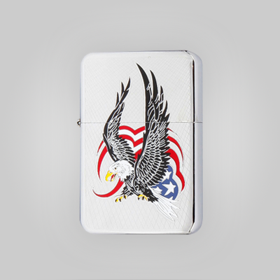 Patriotic Wind Proof Lighter