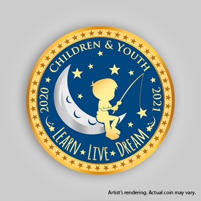 2020-2021 Children & Youth Coin (Pre-order)