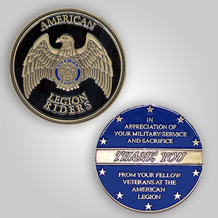 "Legion Riders ""Thank You"" Coin"
