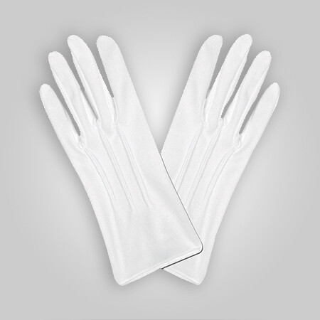 Parade Gloves White