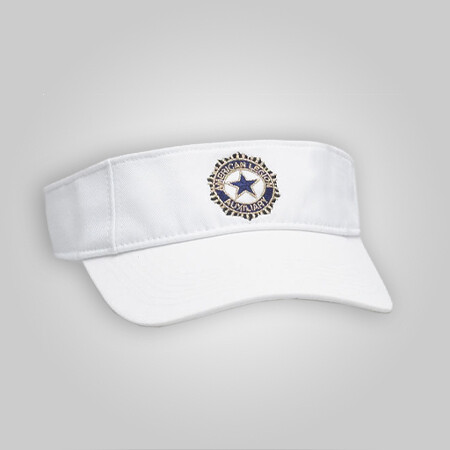 Auxiliary Visor White