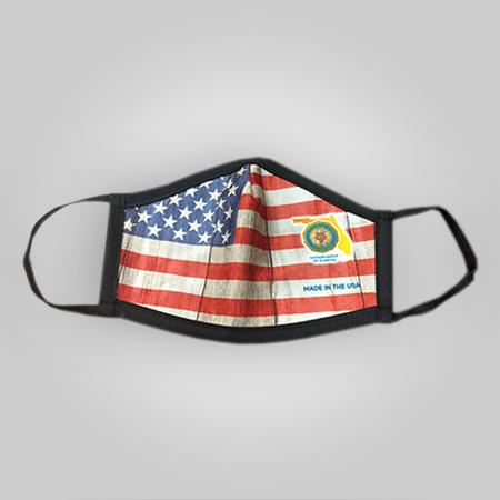 Florida Legion Face Mask - Flag