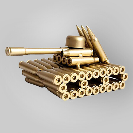 Bullet Casings Tank